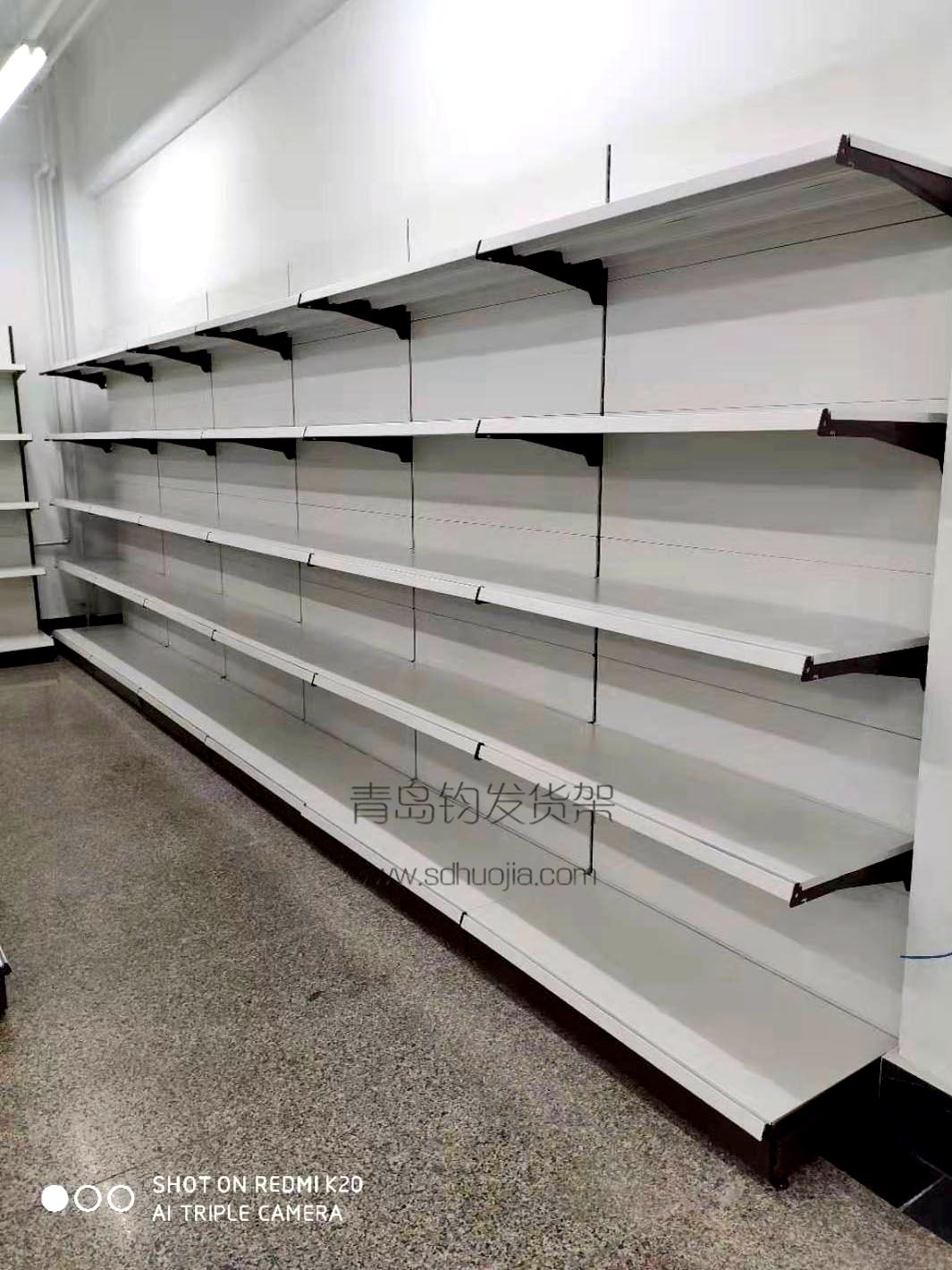 恭喜青岛某学校在青岛钧发货架定制一批超市货架并顺利安装完成