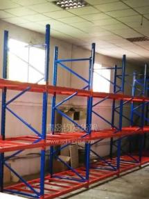 恭喜即墨某包装厂在青岛钧发货架定制一批仓储货架并顺利安装完成