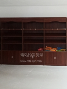 恭喜青岛某艺术学校在青岛钧发货架定制一批木质货架并顺利安装完成