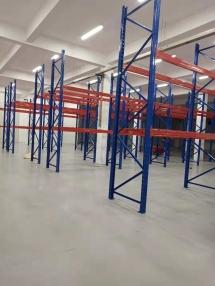 恭喜烟台某公司在青岛钧发货架定制一批重型仓储货架并顺利安装完成!