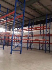 恭喜城阳某发制品公司在青岛钧发货架定制一批重型仓储货架并顺利安装完成!