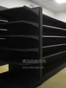 恭喜李沧某超市在青岛钧发货架定制一批超市货架并顺利安装完成!
