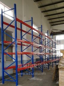恭喜即墨某金属公司在青岛钧发货架定制一批仓储货架并顺利安装完成