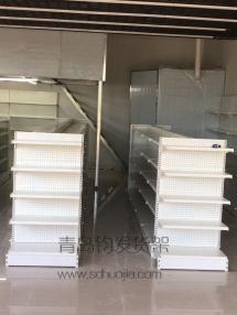 恭喜李沧某便利店在青岛钧发货架定制一批超市货架并顺利安装完成!