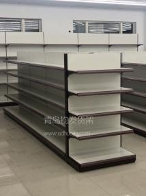 青岛市城阳区河套某连锁超市在钧发货架选购一批超市货架并顺利安装完成