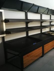 恭喜夏庄某果蔬店在青岛钧发货架定制一批果蔬货架并顺利安装完成!