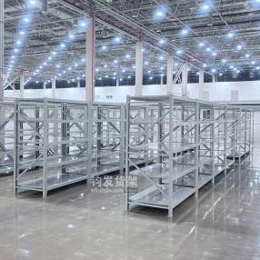 恭喜青岛某公司在青岛钧发货架定制一批仓储货架并顺利安装完成