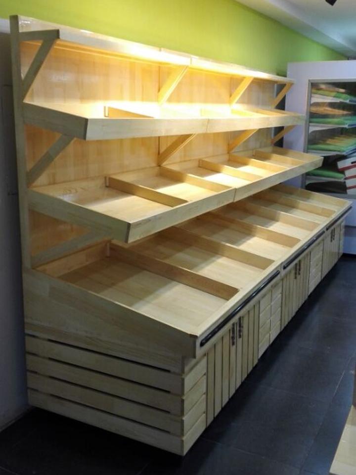 木质蔬菜架