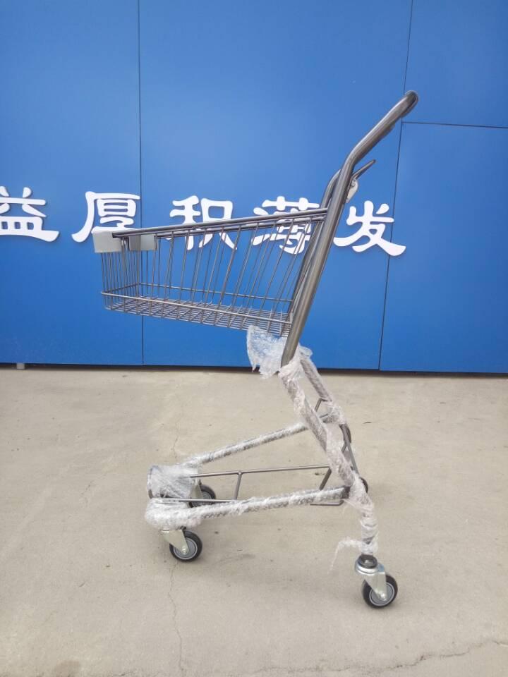 超市购物车—双层提篮车