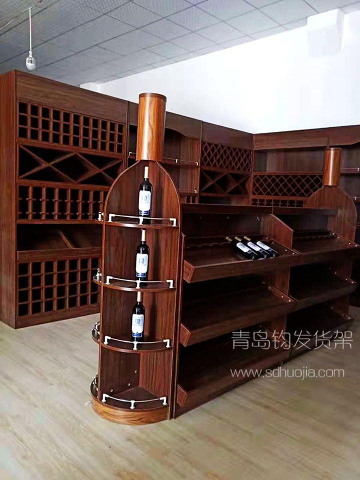 木质货架—红酒货架、红酒展架
