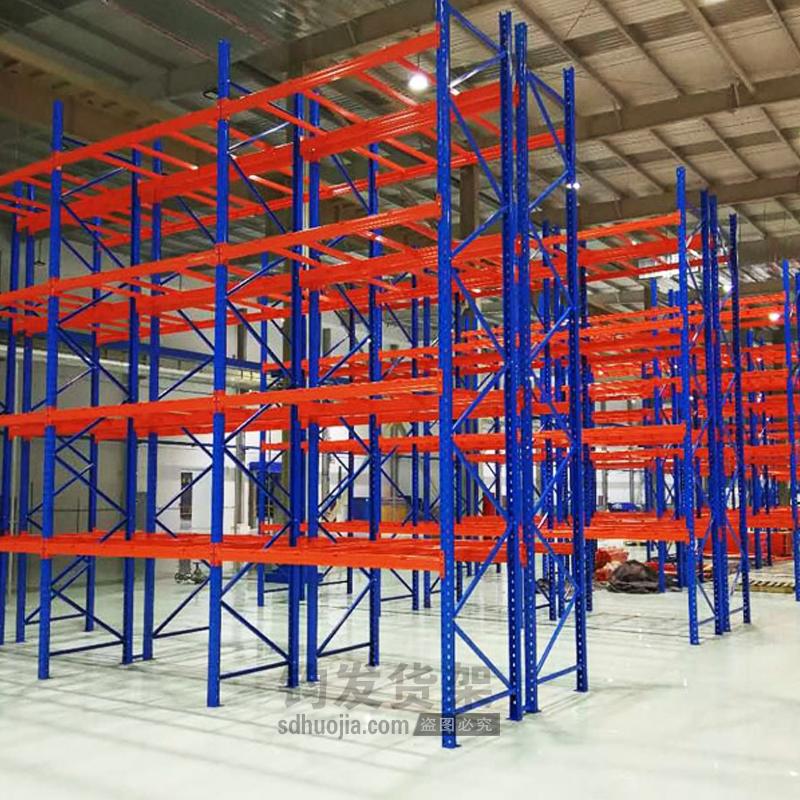 青岛仓库货架--重型仓储货架