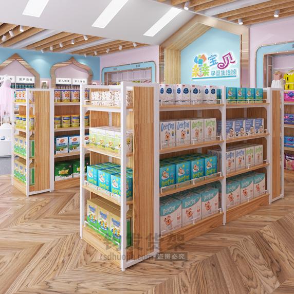 青岛母婴店货架