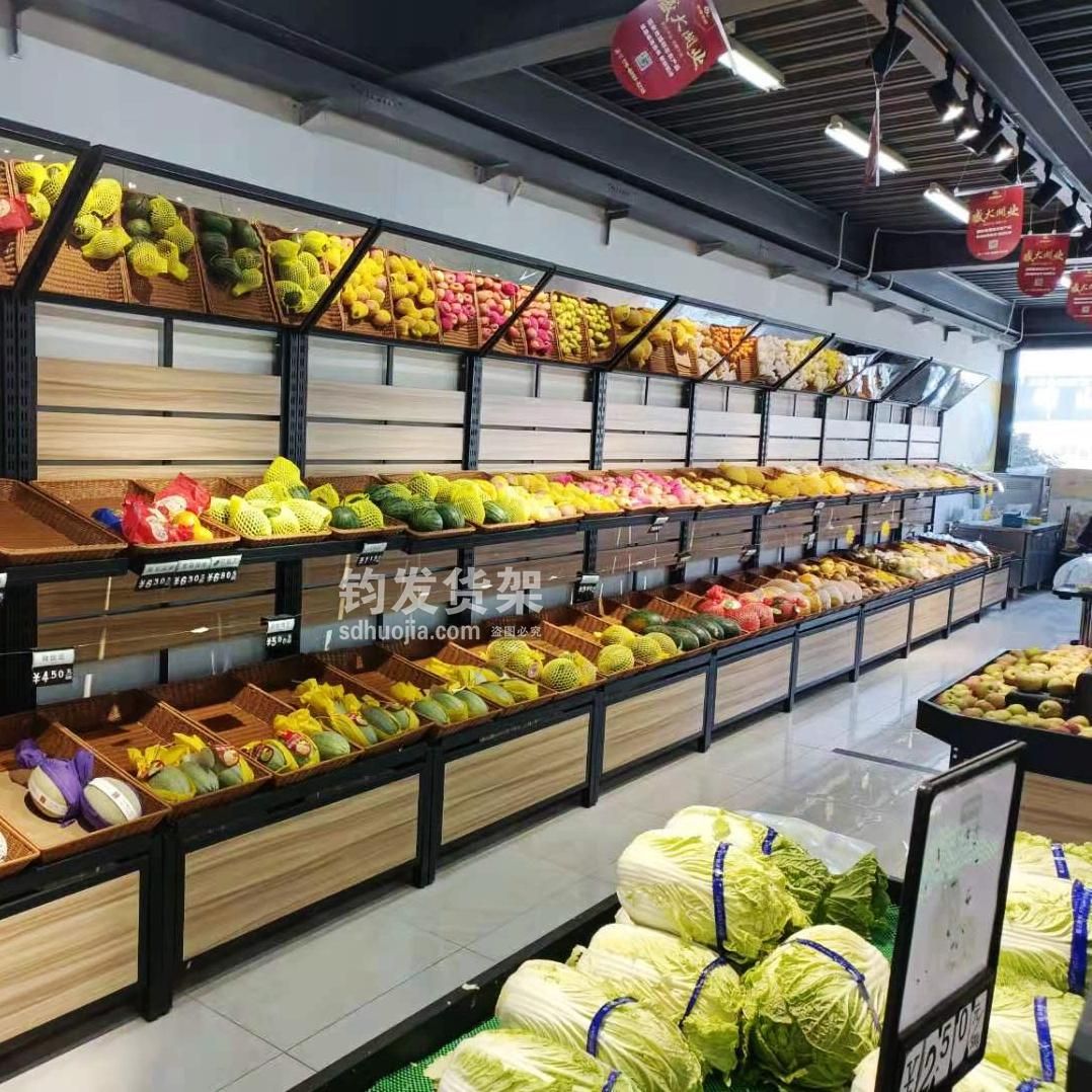 钢木果蔬货架