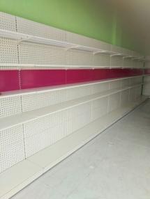 青岛母婴店日式孔板货架