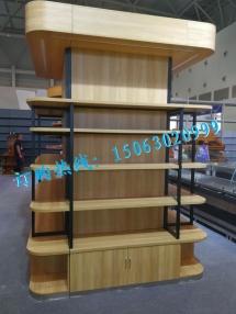 异形钢木结合货架