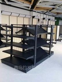 恭贺某店在青岛钧发货架成功安装钢木结合货架