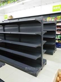 某店在青岛钧发货架成功定制安装青岛便利店货架