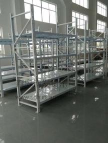 恭喜青岛李沧区某服装公司在我公司定制一批青岛仓库货架并顺利安装完成