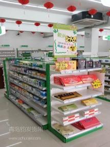 青岛钧发药店货架