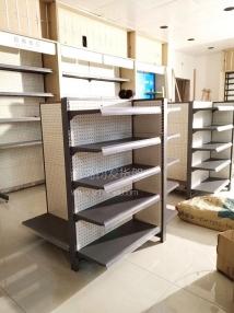 青岛超市货架—韩式孔板货架