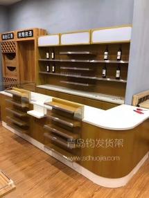 淄博超市收款台展示