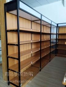 青岛钧发货架—钢木货架