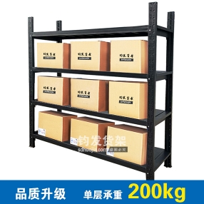 潍坊钧发货架-新款中型仓储货架