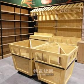 木质粮仓货架