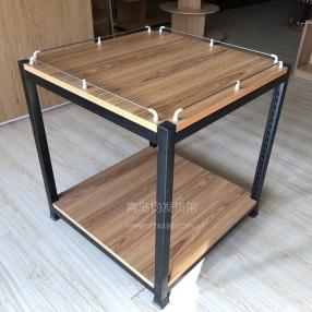 钢木双层特价台