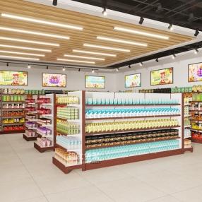 威海超市货架
