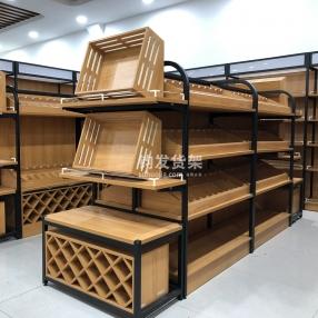 潍坊钧发货架—钢木货架