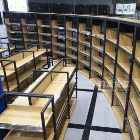 青岛货架—钢木结合货架
