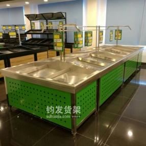 潍坊生鲜超市蔬菜货架