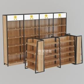 威海超市钢木货架