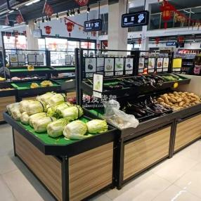 东营超市蔬菜货架